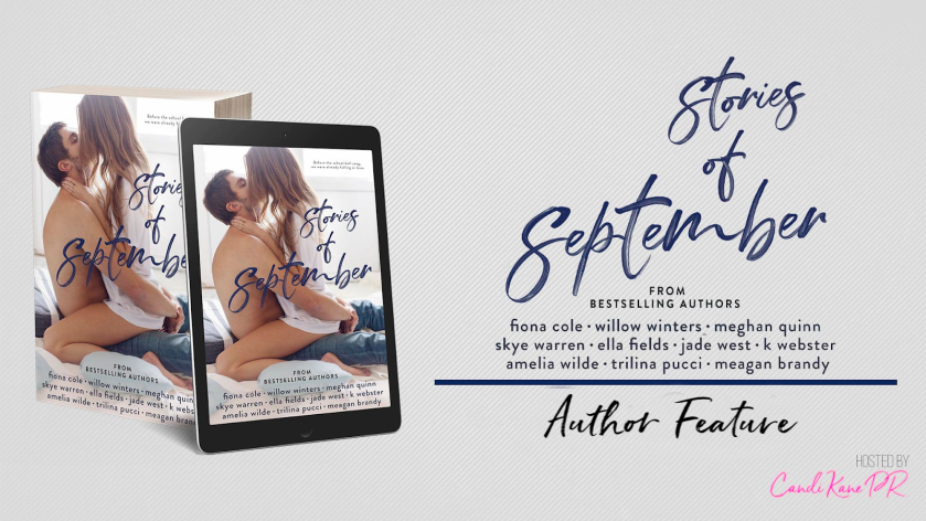 Stories of September Author Feature Banner